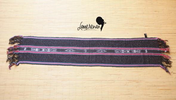 Tanimbar Shawl 02 Prada Black (TS02-Prada Black)